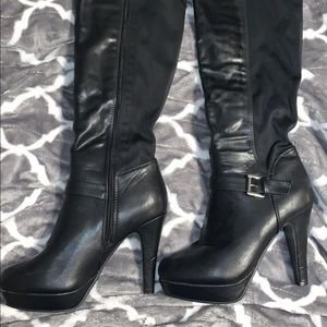 Shoes - High heeled, thigh high boots